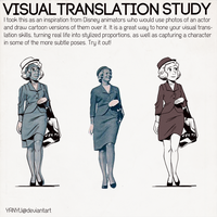 Visual Translation Study by YanYu