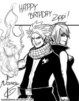 Bday - NaLu by NosakuLemon