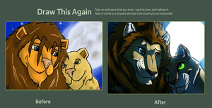 Contest Applicable Draw This Again Meme by TheGreatHushpuppy