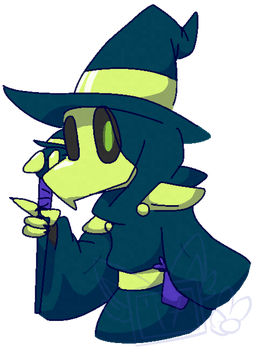 Plague mage by ChannelDraws