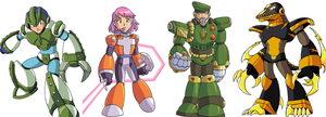 Mega Man X Commissions Part 01 by jmatchead