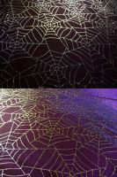 Purple Spiderweb Texture I by Melyssah6-Stock