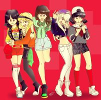3 2 1 SHINee Girls by Pulimcartoon