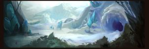 Red Riding Hood Meets Icy Cave by Rydori