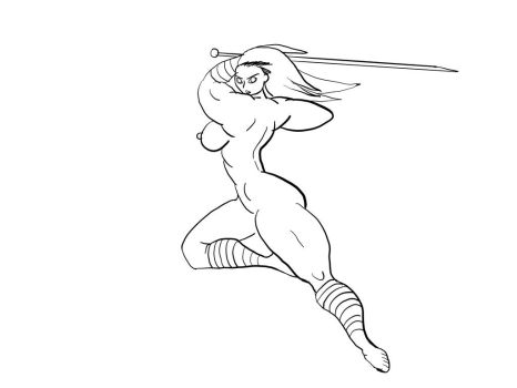 Dragonslayer Swing lines by moatplay