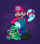 Mario by Ponsho