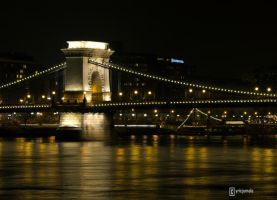 Szechenyi Chain Bridge Part 1 by cyricjumala