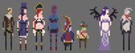 League of Legends Sprites by SmoothMoney