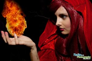 Melisandre Casting Fire by raitophotography