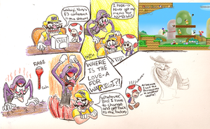 Waluigi's Reaction to E3 by KojinkaLuigiGodzilla