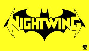 2011 The New 52 Nightwing Comic Title Logo by HappyBirthdayRoboto