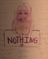 Words Don't Mean Anything by JamGirl0808