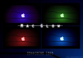 Mac Glow -Wallpaper Pack by xxtjxx