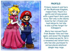 Mario: P4- The Official Pair? by saiiko