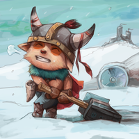 Teemo, the strong and mighty viking by Yunipar
