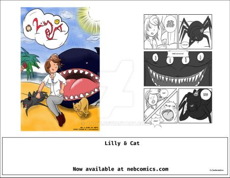 Lilly and Cat by Andyi