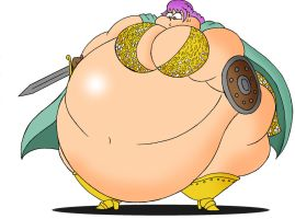 COM Obese Rebecca by Robot001