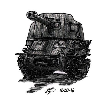Tank Destroyer by TimSlorsky