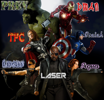 The Avengers Cast Pictures by isaiahcow1