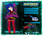 Ficha Digimon Generations Elegidos: Calypso by sunsetlovesarii23