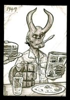 Young Hellboy. by didism