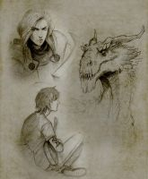 Sketchbook 5 by Manweri