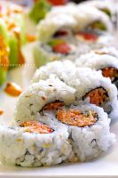 Spicy Crab Roll by thebreat