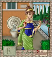 Alphabet series: Rome by asa-bryndis