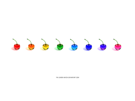 Rainbow Cherries - 100000 Views by THE-LEMON-WATCH