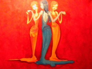 Three Graces - Finished