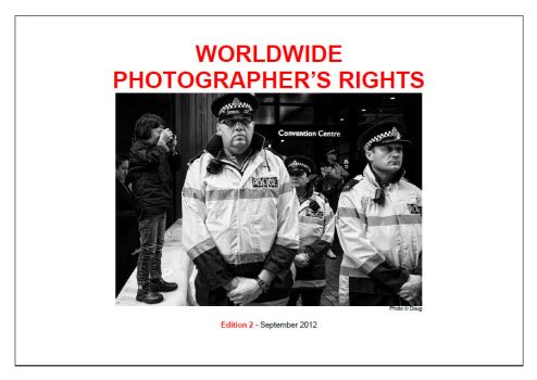 Worldwide Photographer's Rights by DougNZ