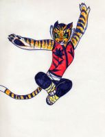 tigress by Lapapolnoch