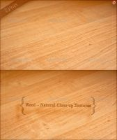 Natural Wood Textures by version-four