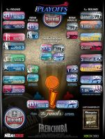 Tableau Playoffs Fnba S.9 by JFDC