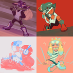 Squid Palette by lilowoof