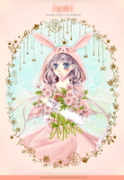 : Rabbit and Flowers : by lollipopz-box