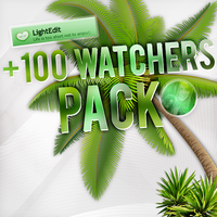 +100 Watchers Pack. by LightEdit