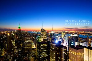 Top of New York by rh89