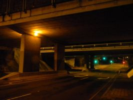 Under the Freeway by Zomit