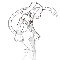Daily Sketch 170: squigly 3: the revenge by ReluctantZombie