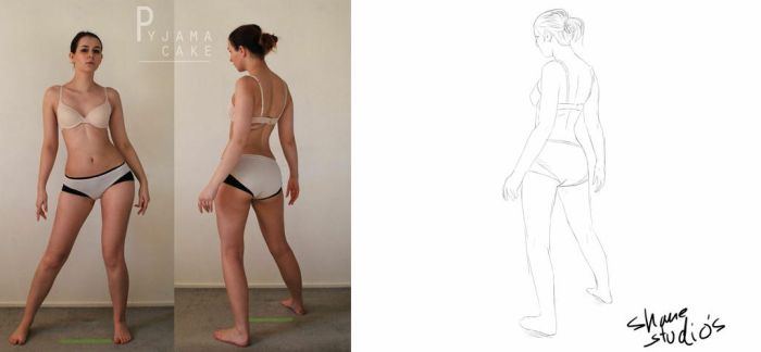 Character Design: Gesture Drawing by kaijin19