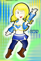 The Beautiful Lucy of the Celestial Spirit Keys by FaisalAden
