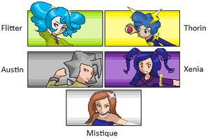 Elite Four and Champion by OrdinLegends