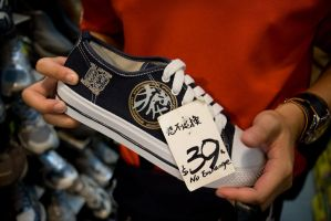 Canvas Shoe for HKD39 by parka