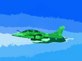 Rafale biplace by angeloup