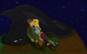 HTTYD FTW - colored by Tobiasfrost