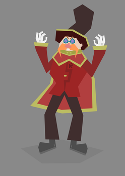 Sonic Redesign: Doctor Eggman (Updated Version) by Anju-Addams