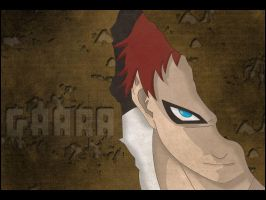 --Gaara of the Sand-- by TheDamnedFan