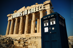 The TARDIS on the Acropolis of Athens by MichaelTzan