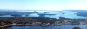 Mt. Erie: Panoramic View by Photos-By-Michelle